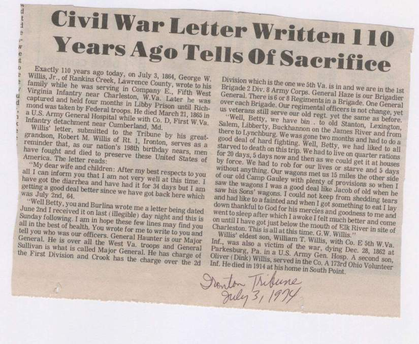 CW letter