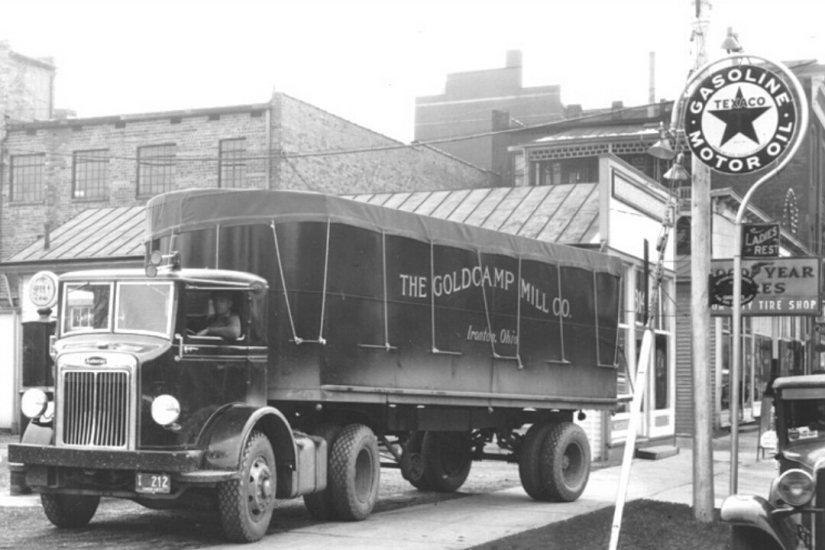Goldcamp Mill truck